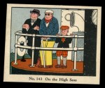 1931 Johnson Candy Dick Tracy #143   On the High Seas Front Thumbnail