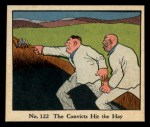 1931 Johnson Candy Dick Tracy #122   The Convicts Hit the Hay Front Thumbnail
