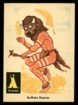 1959 Fleer Indian #4   Buffalo Dancer Front Thumbnail