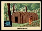 1959 Fleer Indian #30  Indian longhouse  -  Indian longhouse  Indian Front Thumbnail
