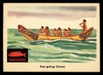 1959 Fleer Indian #48  Sea-going Canoe  Front Thumbnail