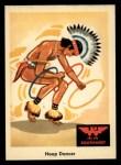 1959 Fleer Indian #58  Hoop Dancer  Front Thumbnail