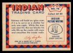 1959 Fleer Indian #78   Eskimo returning to igloo Back Thumbnail