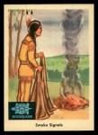 1959 Fleer Indian #41  Smoke Signals  Front Thumbnail