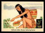 1959 Fleer Indian #69   Indian woman gathering berries Front Thumbnail