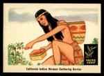 1959 Fleer Indian #69  Indian woman gathering berries  Front Thumbnail