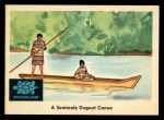 1959 Fleer Indian #33  Seminole Dugout Canoe  Front Thumbnail