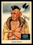 1959 Fleer Indian #34  Iroquois Warrior  -  Iroquois Warrior  Indian Front Thumbnail