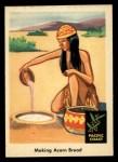 1959 Fleer Indian #68  Making acorn bread  Front Thumbnail