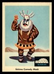 1959 Fleer Indian #71  Eskimo comedy mask  Front Thumbnail