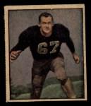 1951 Berk Ross #15 C  Rodney Franz Front Thumbnail