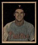 1951 Berk Ross #8 C  Dick Sisler Front Thumbnail