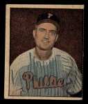 1951 Berk Ross #10 C  Ken Heintzelman Front Thumbnail