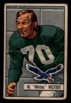 1951 Bowman #11   Al Wistert Front Thumbnail