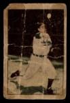 1952 Berk Ross #19   Bob Feller Front Thumbnail