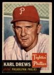 1953 Topps #59  Karl Drews  Front Thumbnail