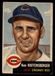 1953 Topps #276   Ken Raffensberger Front Thumbnail