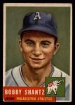 1953 Topps #225   Bobby Shantz Front Thumbnail