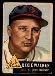 1953 Topps #190   Dixie Walker Front Thumbnail