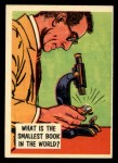 1957 Topps Isolation Booth #74  World's Smallest Book  Front Thumbnail
