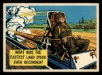 1957 #48   Fastest Land Speed Ever Recorded Front Thumbnail