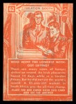 1957 Topps Isolation Booth #62   Who Went the Longest Without Eating Back Thumbnail