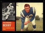 1962 Topps #5   Raymond Berry Front Thumbnail