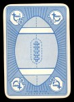 1971 Topps Game Inserts #3   Joe Namath Back Thumbnail
