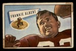 1952 Bowman Small #5   Frankie Albert Front Thumbnail