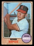 1968 Topps #587   Roger Repoz Front Thumbnail