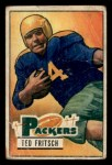 1951 Bowman #54   Ted Fritsch Front Thumbnail