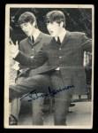 1964 Topps Beatles Black and White #128  John Lennon  Front Thumbnail