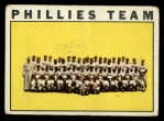 1964 Topps #293   Phillies Team Front Thumbnail