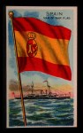 1911 Flags of All Nations T59 #126 REC  Spain Man of War Flag Front Thumbnail