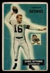 1955 Bowman #150   George Ratterman Front Thumbnail