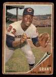 1962 Topps #307  Jim Mudcat Grant  Front Thumbnail