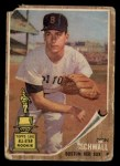 1962 Topps #35  Don Schwall  Front Thumbnail
