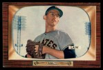 1955 Bowman #199   Vern Law Front Thumbnail