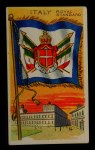 1911 Flags of All Nations T59 #71 REC  Italy Royal Standard Front Thumbnail