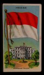 1911 Flags of All Nations T59 #63 REC  Hesse Front Thumbnail