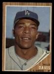 1962 Topps #108   Willie Davis Front Thumbnail