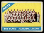 1966 Topps #59   Reds Team Front Thumbnail