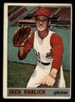 1966 Topps #129  Jack Kralick  Front Thumbnail