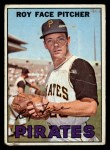 1967 Topps #49 COR  Roy Face Front Thumbnail