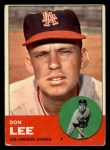 1963 Topps #372 ERR  Don Lee Front Thumbnail