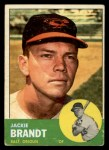 1963 Topps #65   Jackie Brandt Front Thumbnail