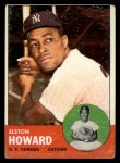 1963 Topps #60   Elston Howard Front Thumbnail