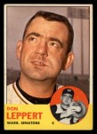 1963 #243  Don Leppert  Front Thumbnail