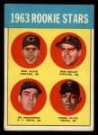 1963 Topps #228  Rookie Stars    -  Max Alvis / Bob Bailey / Ed Kranepool / Tony Oliva Front Thumbnail