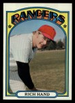 1972 Topps #317   Rich Hand Front Thumbnail